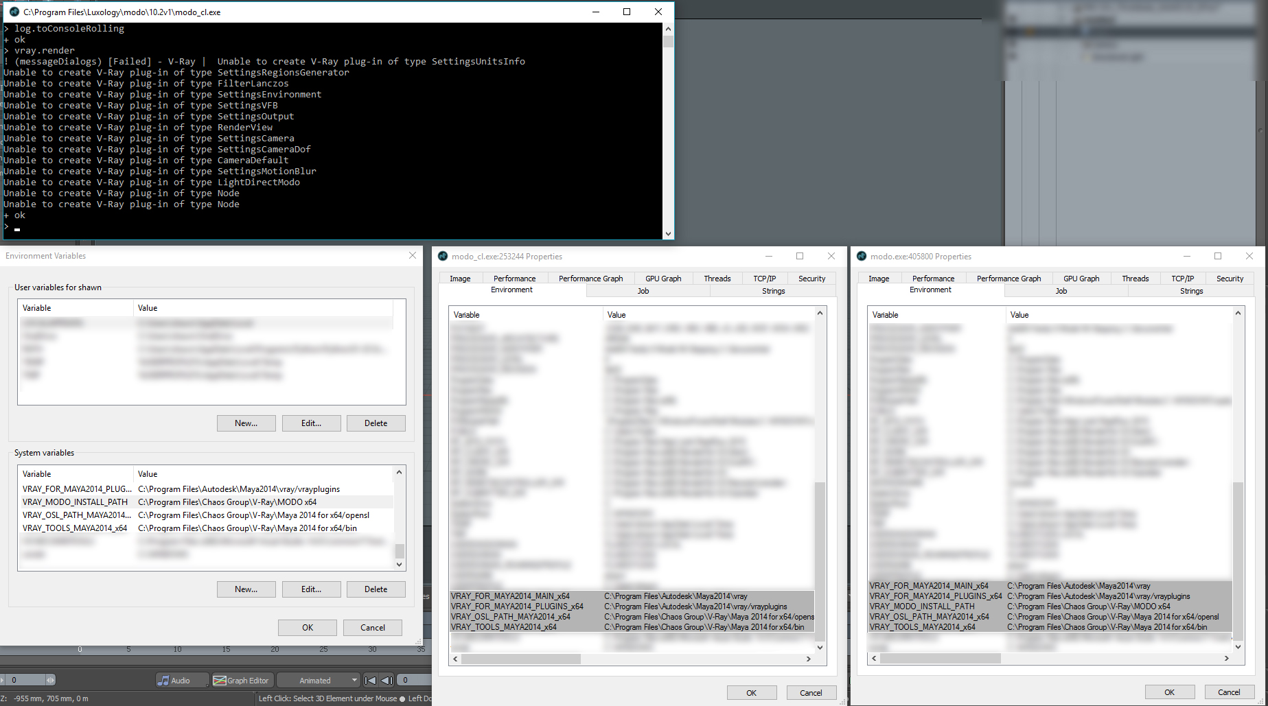 Command line fails to load V-Ray - Chaos Group Forums